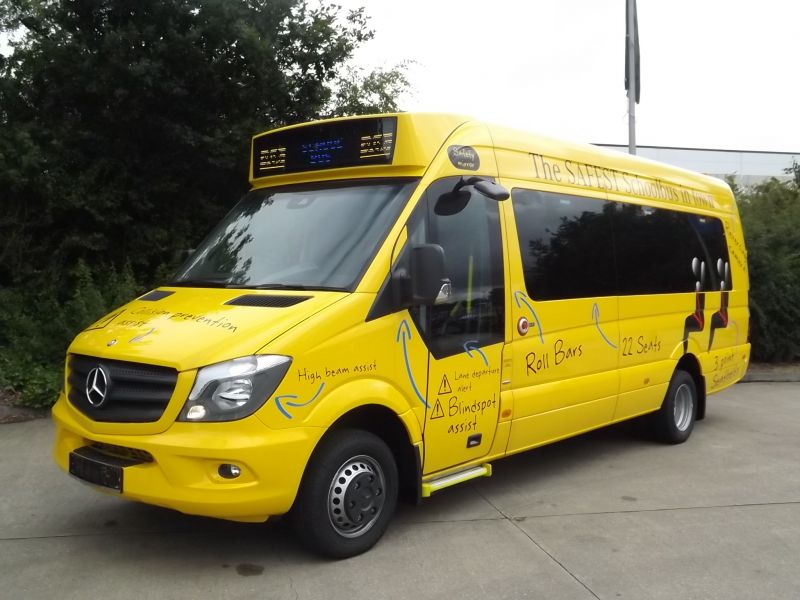 London Hire Launches Euro Vi Sprinter School Bus London