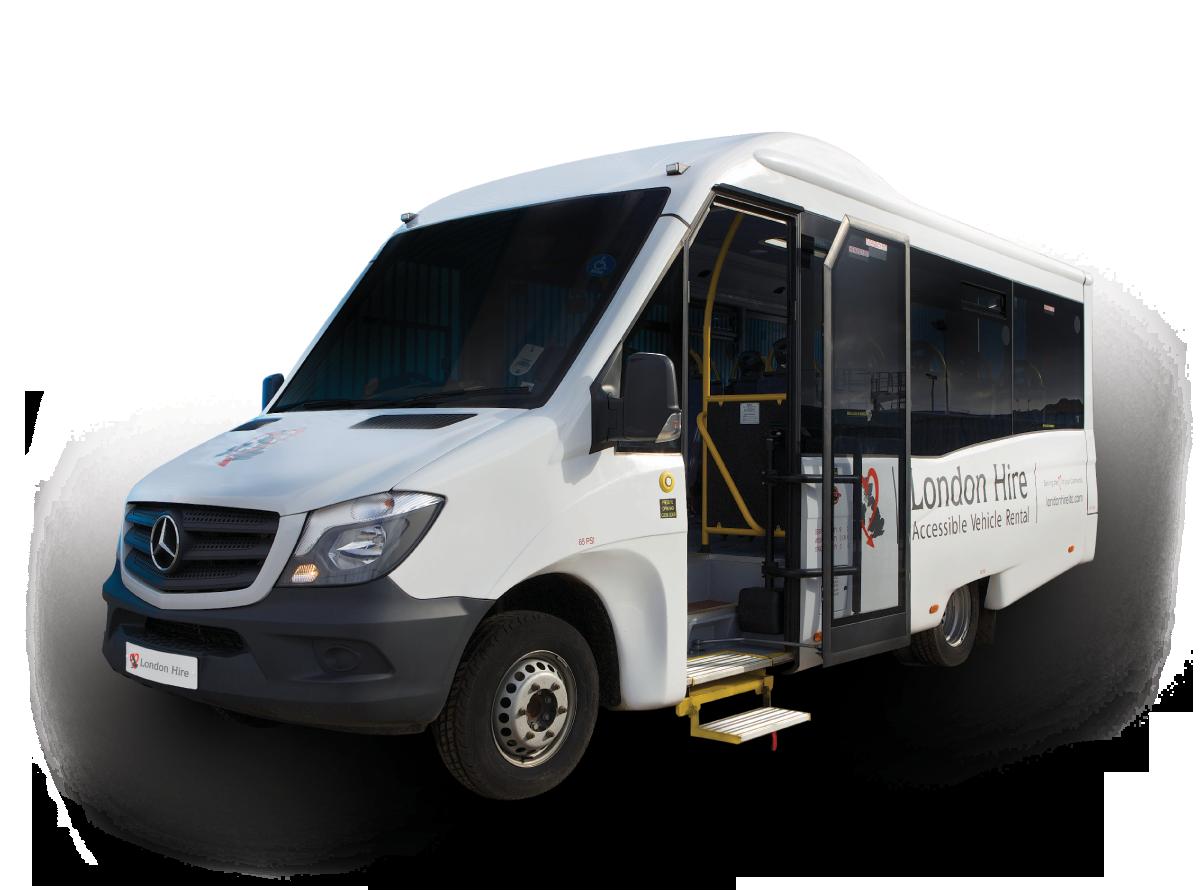 16 Seater Coach Built (Mellor) - London Hire Ltd