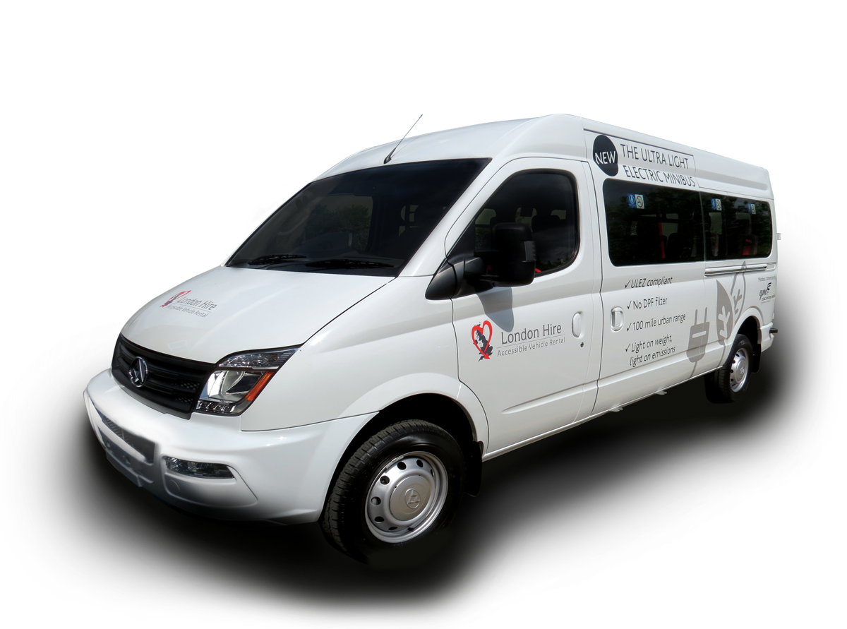 9 Seat Fully Accessible Electric Minibus